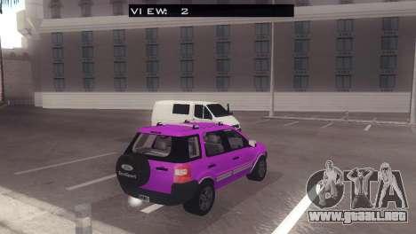 Ford EcoSport V2 para la visión correcta GTA San Andreas