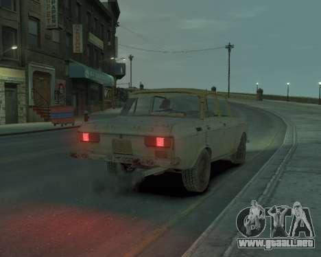 AZLK 2140 s. l. a. t. k. e. R para GTA 4 left