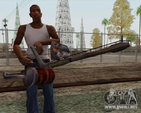 Nuevo lanzallamas para GTA San Andreas tercera pantalla