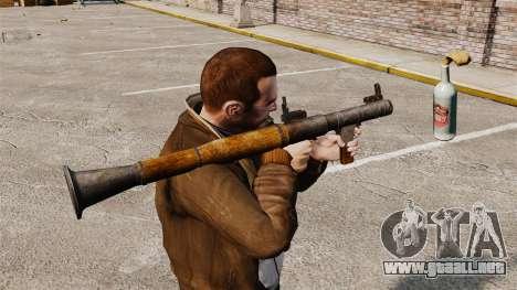 Lanzagranadas antitanque, Molotov para GTA 4
