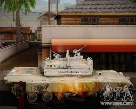 Abrams Tank Indonesia Edition para GTA San Andreas left