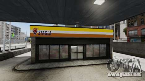 AGS Stagla para GTA 4 tercera pantalla