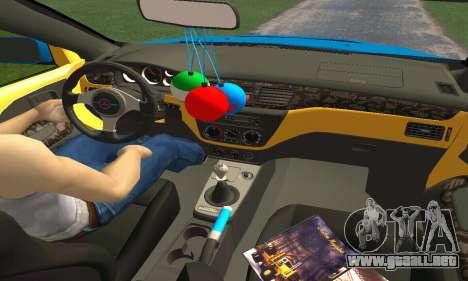 Mitsubishi Evo IX Wagon S-Tuning para GTA San Andreas interior