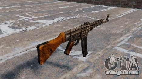 Rifle de asalto MP44 para GTA 4 segundos de pantalla