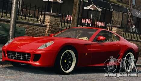 Ferrari 599 GTB Hamann 2006 para GTA 4 vista lateral