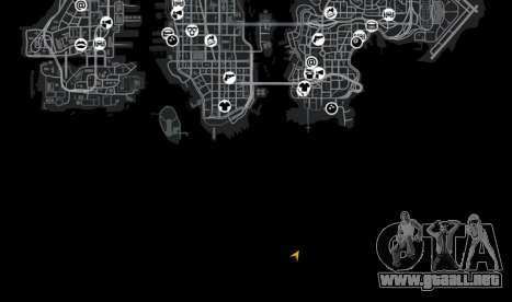 Ubicación Luxville Point Blank para GTA 4 octavo de pantalla