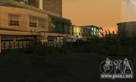 Terminó la construcción en San Fierro V1 para GTA San Andreas sexta pantalla