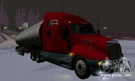 Kenworth T2000 v2.9 para vista inferior GTA San Andreas