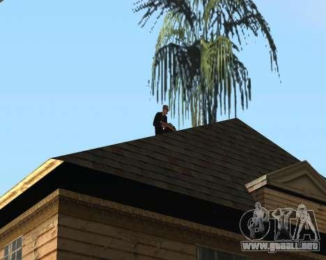 Guardia nacional CJ para GTA San Andreas