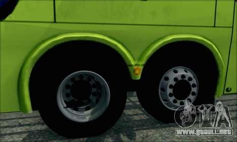 Marcopolo Paradiso G6 Tur-Bus para GTA San Andreas vista posterior izquierda