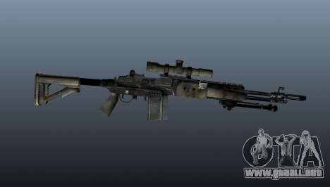 Rifle de francotirador M21 Mk14 v4 para GTA 4 tercera pantalla