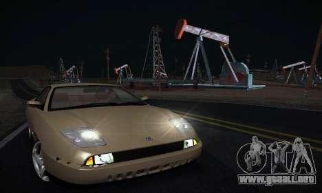 Fiat Coupe para GTA San Andreas vista hacia atrás