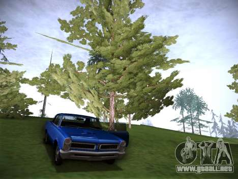 Playable ENB by Pablo Rosetti para GTA San Andreas sucesivamente de pantalla