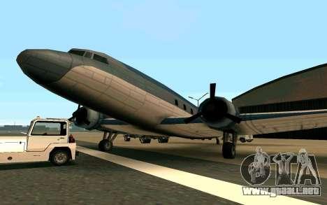 Un avión de Estados Unidos para GTA San Andreas