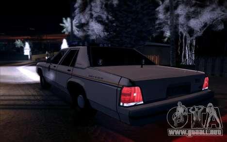 Police North Yankton para la visión correcta GTA San Andreas