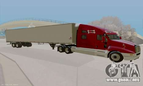 Kenworth T2000 v2.9 para GTA San Andreas left
