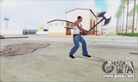 Fragua de hacha para GTA San Andreas tercera pantalla