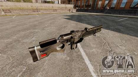 Escopeta automática para GTA 4 segundos de pantalla