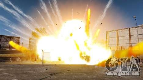 Nuevos efectos de la explosión y el fuego para GTA 4