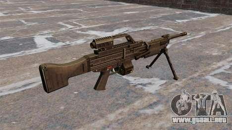 Ametralladora ligera de HK MG4 para GTA 4 segundos de pantalla