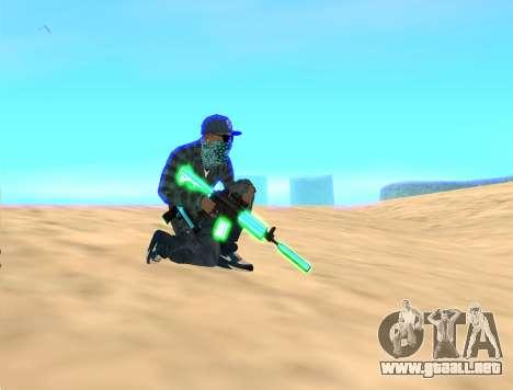 Rifa Gun Pack para GTA San Andreas tercera pantalla
