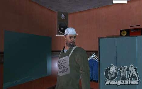 HD piel vago para GTA San Andreas