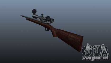 Rifle de francotirador deportes Winchester Model para GTA 4 segundos de pantalla