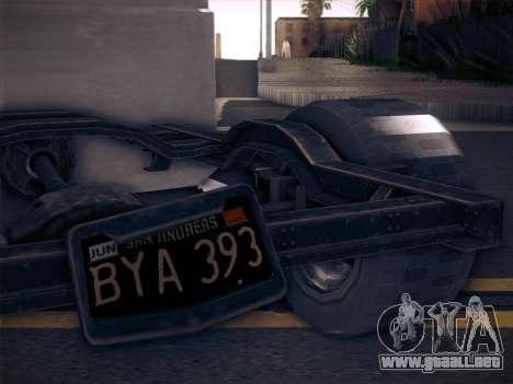 Rat Loader from GTA V para GTA San Andreas vista posterior izquierda