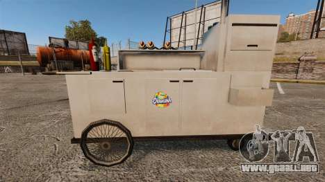 Nuevas texturas de carros de perros calientes para GTA 4 séptima pantalla