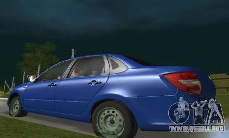 VAZ Grant 2190 Stock para vista lateral GTA San Andreas