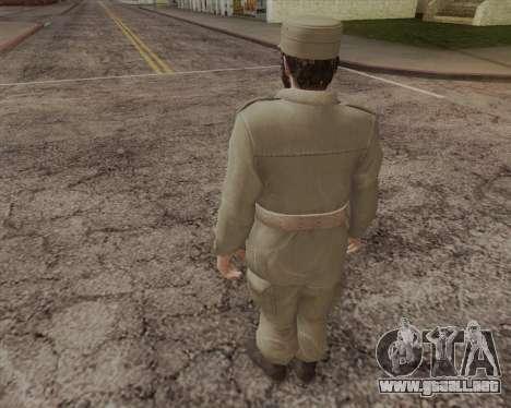 Fidel Castro para GTA San Andreas segunda pantalla