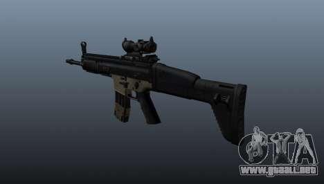 Automático FN SCAR-L para GTA 4 segundos de pantalla