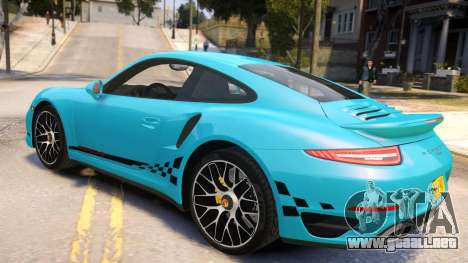 Porsche 911 Turbo 2014 [EPM] para GTA 4 left