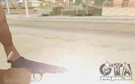 Beretta M9 v2 para GTA San Andreas segunda pantalla