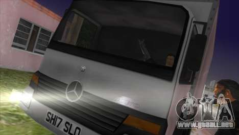 Mercedes Benz Atego para GTA Vice City left