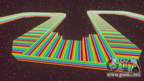 Camino del arco iris para GTA 4 tercera pantalla