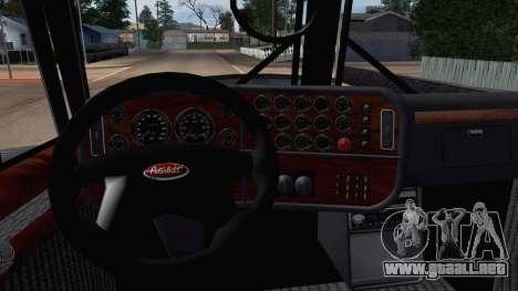 Peterbilt 379 Papa Clyde para la visión correcta GTA San Andreas