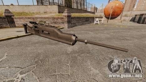 Ametralladora Maxim XM312 para GTA 4