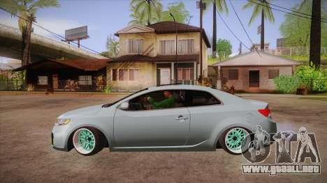 Kia Cerato para GTA San Andreas left