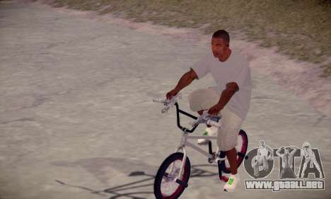 Franklin HD para GTA San Andreas segunda pantalla