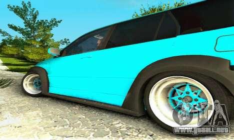 Mitsubishi Evo IX Wagon S-Tuning para GTA San Andreas vista posterior izquierda