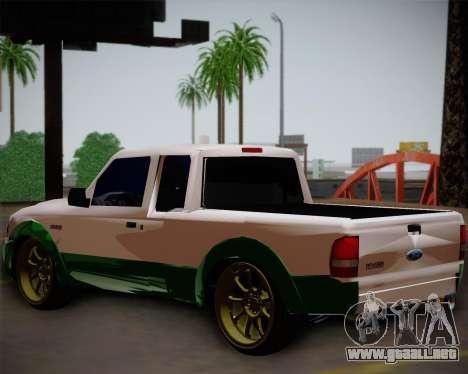 Ford Ranger 2005 para GTA San Andreas left