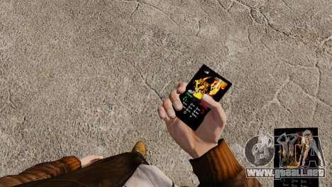 Tema para teléfono fuego y llamas para GTA 4