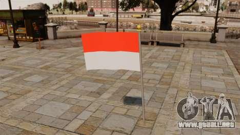 Bandera de Indonesia para GTA 4
