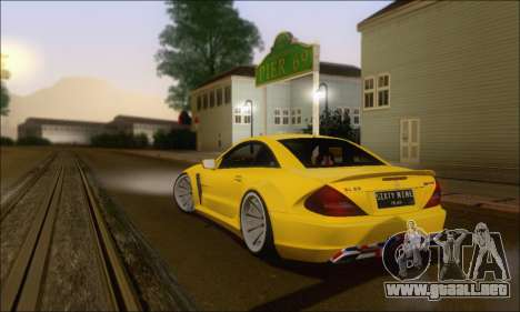 Mercedes-Benz SL65 AMG GB para GTA San Andreas vista hacia atrás