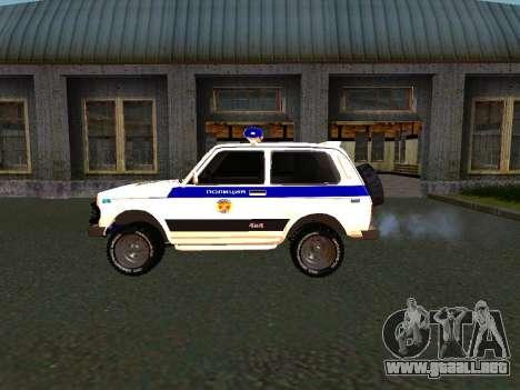 VAZ 212140 policía para la visión correcta GTA San Andreas