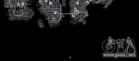 Biblioteca Point Blank para GTA 4 quinta pantalla