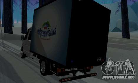 Empresas gacela 33023 para la visión correcta GTA San Andreas