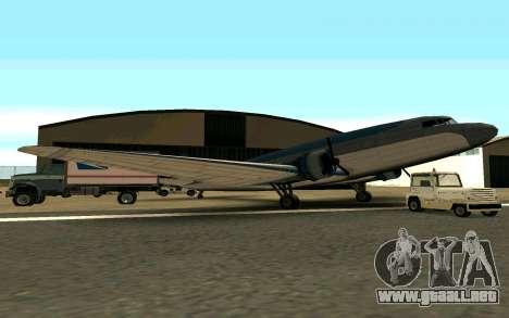 Un avión de Estados Unidos para GTA San Andreas left