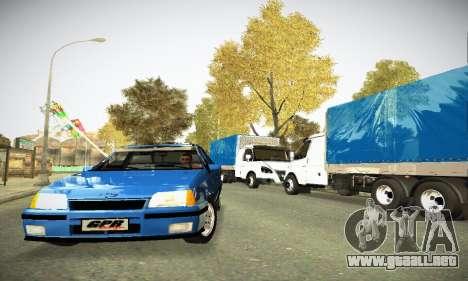 Chevrolet Kadett GS 2.0 para GTA San Andreas vista hacia atrás